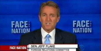 Sen. Jeff Flake Worries That Trump Could Lose Arizona