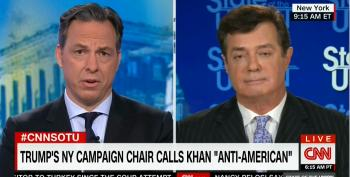 Jake Tapper Whacks Paul Manafort For Pretending To Be Unaware Of Attacks On Gold Star Family