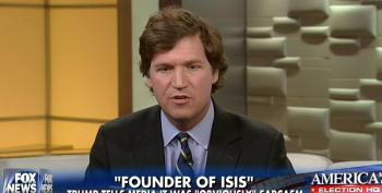 Tucker Carlson Has A Hissy Fit Over Clinton's Acknowledgement Of White Privilege