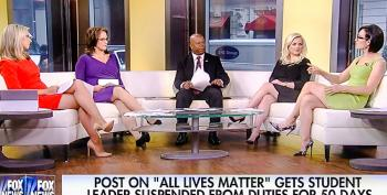 Four White Fox News Hosts Decide Black People Should Not Be Offended By 'All Lives Matter' Slogan