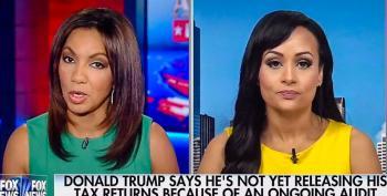 Katrina Pierson Goes Down In Flames Defending Trump's Tax Returns To Fox's Arthel Neville