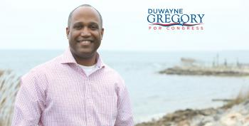 DuWayne Gregory-- Ready To Turn Long Island Blue Again