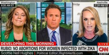 Scottie Nell Hughes Opposes Abortion Rights For Women With Zika: Birth Defects Are 'Nothing New'