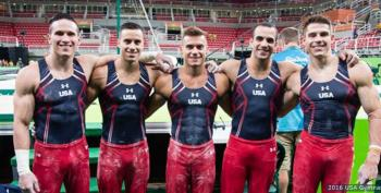 It's The Olympics! All  Eyes On USA Gymnastics In Rio