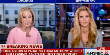 Andrea Mitchell Asks Ann Coulter To Comment On Huma Abedin's Separation