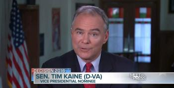 Kaine Defends Clinton On Trustworthiness Issue, Hammers Trump On Iran Lies