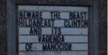 Hillary Clinton's 'Vagenda Of Manocide' Coming To Manocide You With A Vagenda