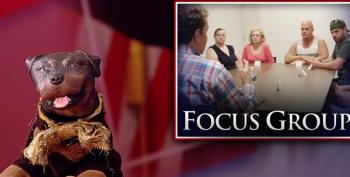 Triumph The Insult Comic Dog Trolls A Trump Supporter Focus Group