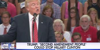 Even Donald Trump's Own Rallygoers Are Shocked By His 2A Threats To Hillary