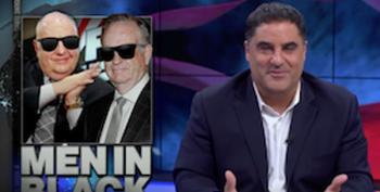 Cenk Uygur Reveals That Roger Ailes' 'Black Room' Enemies Ops Were Known To MSNBC