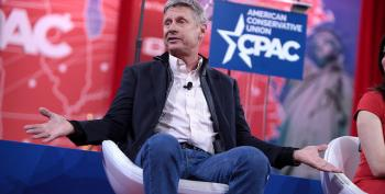 Libertarian Gary Johnson: Climate Change Means We Have To 'Inhabit Other Planets'