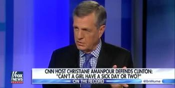Watch Brit Hume Mainstream A Hillary Clinton Conspiracy Theory – And Blame Her For It