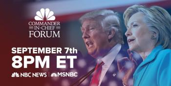 LIVE: Commander-In-Chief Forum - Clinton And Trump Meet IAVA