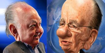 Ailes Is Gone, But Fox Will Be Horrible Until Rupert Murdoch Drops Dead