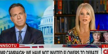 Kellyanne Conway Does Damage Control After Trump Invites Gennifer Flowers To Debate