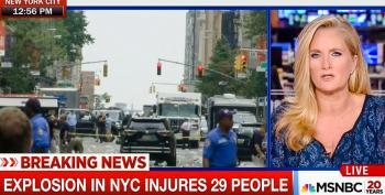 MSNBC Host Thanks Experts For Speculating On NYC Blast