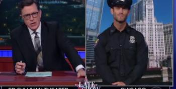Colbert Mocks Trump's Fictional Plan To End Crime In Chicago