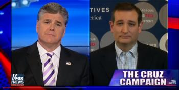 Sean Hannity Suddenly Loves Ted Cruz - Now That He Has Endorsed Trump