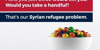 Trump Jr. Tweets Illiterate Racist Meme Comparing Refugee Children To Skittles