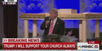 Donald Trump Shocked Black Church Knew Famous Bible Verse: UPDATED
