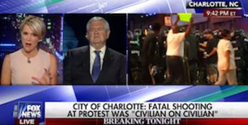 Trump Surrogate Newt Gingrich Insults Charlotte Protester: 'She Has A Life That Has No Future'