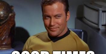 Open Thread - Star Trek TOS, FTW.