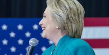Hillary Clinton Gives Major Policy Speech On Economy And The Disabled