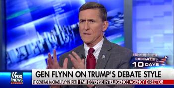 Gen. Mike Flynn: Trump 'Hands Down' Won The Debate, We Just Didn't Spin It Well Enough