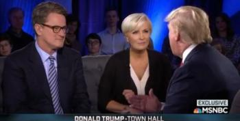 Is Joe Scarborough Really Crawling Back To Donald?  Really?