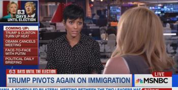 Tamron Hall Commits Journalism, Mocks Trump Adviser: 'I Realize You've Come Locked And Loaded'