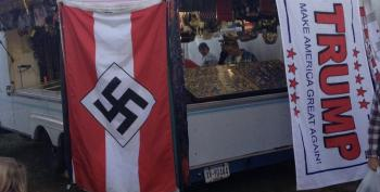 Nazi Youth, Trump Flags Side-By-Side At Pennsylvania Fair