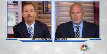Chuck Todd Suggests Trump Should Have Invited 'Grieving Benghazi Mother' To Debate Instead Of Flowers