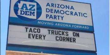 AZ Democratic Party Has A Great Sense Of Humor. AZ-GOP? Not So Much.