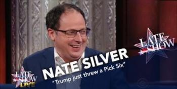 Nate Silver Tells Colbert How Bad Trump's Night REALLY Was