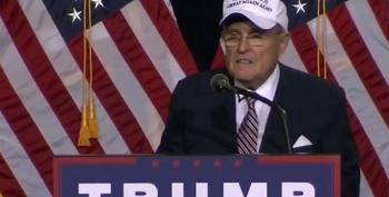 Rudy Giuliani Goes On Racist Rant During Paid Speech