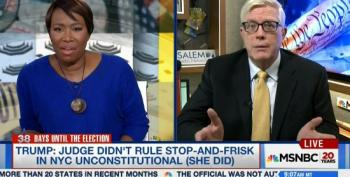 Joy Reid Smashes Hugh Hewitt: What Does That Have To Do With Stop And Frisk?'