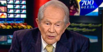 Pat Robertson Says Trump Is 'Macho' For Grabbing Women 'By The P*ssy' Without Permission