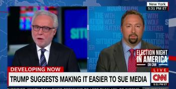 Wolf Blitzer Slams Trump Advisor: 'You Don't Go After The First Amendment'