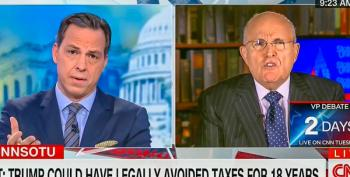 Tapper Calls Out Giuliani For 'Unhinged' Hypocrisy On Clinton's Marriage: 'It's Indefensible'