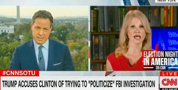 Kellyanne Conway Snaps At Jake Tapper: Asking About Racism Is 'Evidence We're Going To Win'