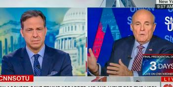 Tapper Destroys Giuliani's Trump Sex Assault Defense: Your Witness Is A 'Former Pimp Guy'