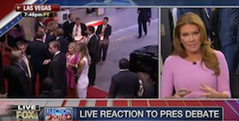Fox Pundits Suggest A Camera And Lighting Conspiracy Made Clinton Look Better Than Trump At The Debate