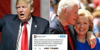 Maybe Trump Doesn't Have The Guts To Bring Up Bill's Sex Life To Hillary's Face