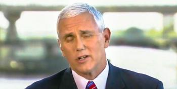 Mike Pence Says He Is Not 'Sure' If Hillary Clinton Is Taking Performance Enhancing Drugs
