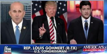 Gohmert Blames Trump's Vile Language On Bill Clinton