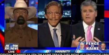 "Geraldo Calls Out Sheriff David Clarke For ""Unfair"" Racist Rhetoric"
