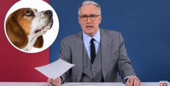 Olbermann: WTF!  Why Is Trump Such A Weirdo About Dogs?