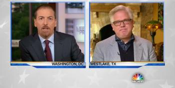 Rodeo Clown Glenn Beck Complains To Chuck Todd That We're 'Losing Our Decency'
