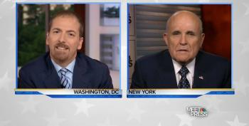 Chuck Todd Destroys Rudy Giuliani's Talking Points On Meet The Press