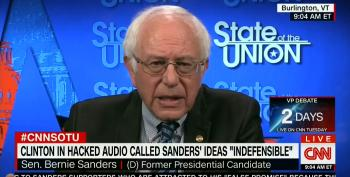 Bernie Sanders Blasts The Notion That Clinton Insulted His Supporters